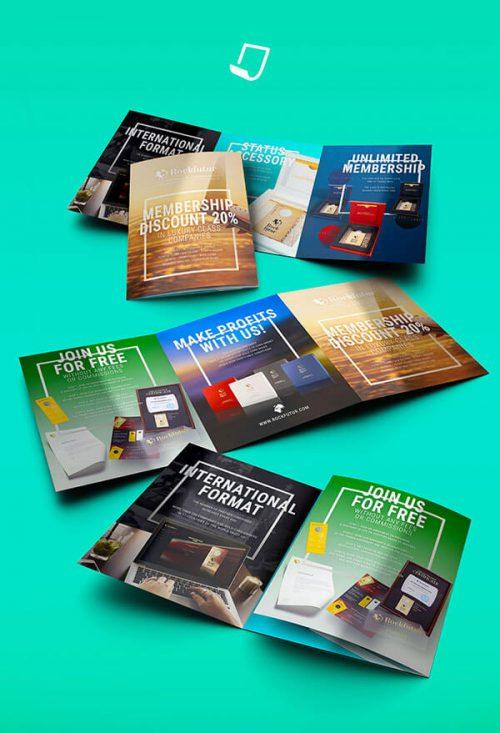 طراحی خلاقانه کاتالوگ شرکت چاپی