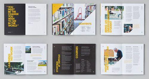 طراحی بروشور و کاتالوگ دانشگاهی